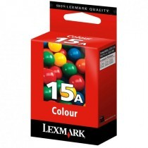 Originální cartridge Lexmark 15 (18C2100) (Barevná)