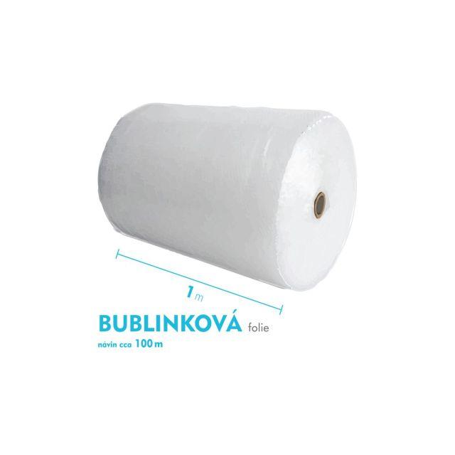 Bublinková fólie - 100cm x 100m - šíře x návin