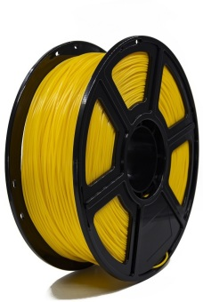 Tisková struna PLA pro 3D tiskárny, 3mm, 1kg, tmavě žlutá