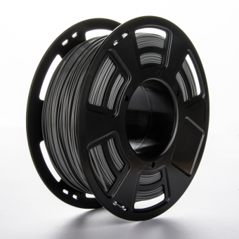 Tisková struna PLA+ pro 3D tiskárny, 1,75mm, 1kg, šedá