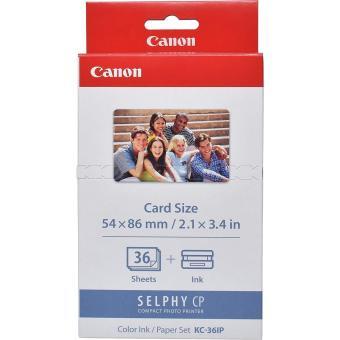 Etikety pro termosublimační tiskárny Canon 54x86mm, 36ks, nálepky (KC36IP)
