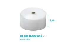 Bublinková fólie - 40cm x 100m - šíře x návin