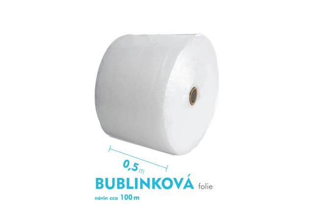 Bublinková fólie - 50cm x 100m - šíře x návin