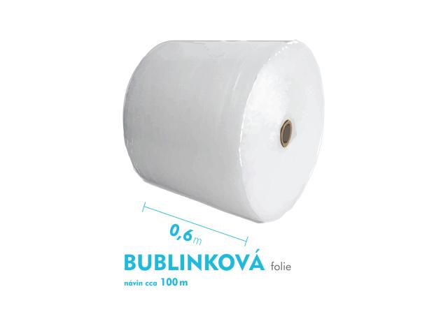 Bublinková fólie - 60cm x 100m - šíře x návin
