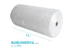 Bublinková fólie - 150cm x 100m - šíře x návin