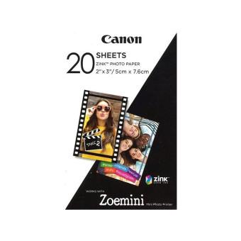 Fotopapír pro termosublimační tiskárny Canon 5x7,6cm, 20ks (ZP-2030)