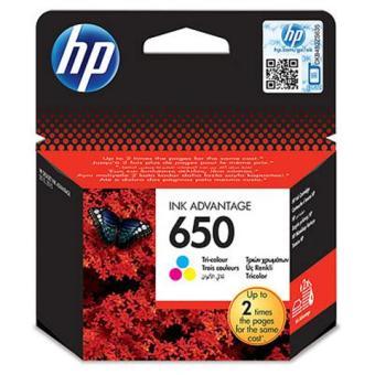 Originální cartridge HP 650 (CZ102AE) (Barevná)