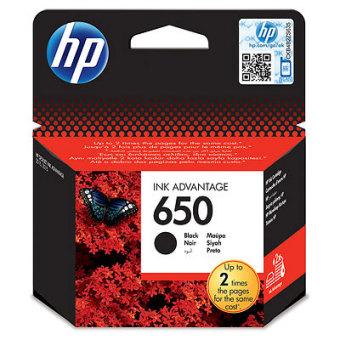 Originální cartridge HP 650 (CZ101AE) (Černá)