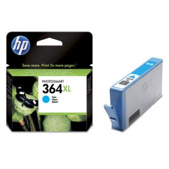 Originální cartridge HP č. 364C XL (CB323EE) (Azurová)