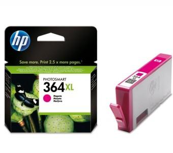Originální cartridge HP č. 364M XL (CB324EE) (Purpurová)