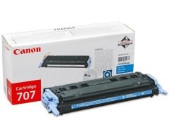 Toner do tiskárny Originální toner CANON CRG-707 C (Azurový)