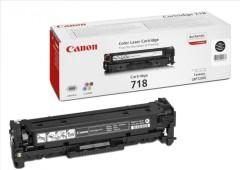 Toner do tiskárny Originální toner CANON CRG-718 BK (Černý)