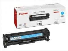 Toner do tiskárny Originální toner CANON CRG-718 C (Azurový)