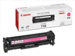 Toner do tiskárny Originální toner CANON CRG-718 M (Purpurový)