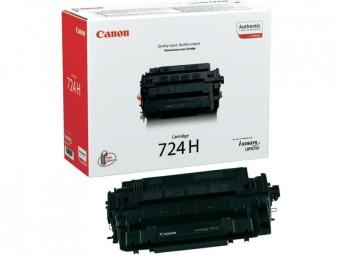Originální toner CANON CRG-724H BK (Černý)