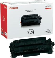 Toner do tiskárny Originální toner CANON CRG-724 BK (Černý)