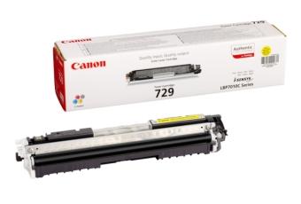 Originální toner CANON CRG-729 Y (Žlutý)