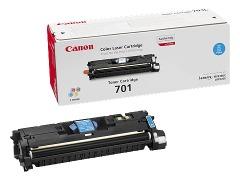 Toner do tiskárny Originální toner CANON EP-701 C (Azurový)