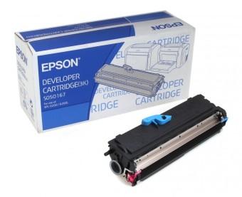 Originální toner EPSON C13S050167 (Černý)