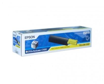 Originální toner EPSON C13S050187 (Žlutý)