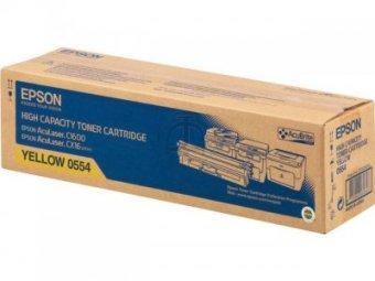 Originální toner EPSON C13S050554 (Žlutý)