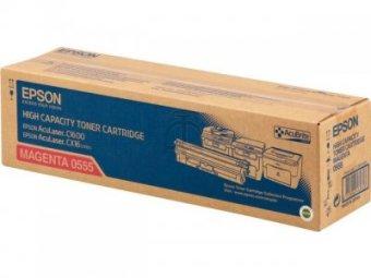Originální toner EPSON C13S050555 (Purpurový)