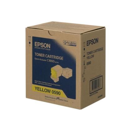 Originální toner Epson C13S050590 (Žlutý)