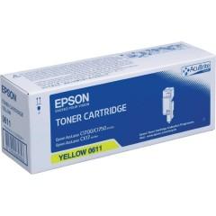 Toner do tiskárny Originální toner EPSON C13S050611 (Žlutý)