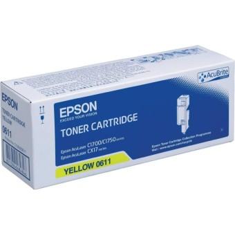 Originální toner EPSON C13S050611 (Žlutý)