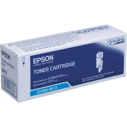 Originální toner EPSON C13S050613 (Azurový)