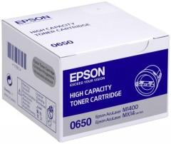 Toner do tiskárny Originální toner EPSON C13S050650 (Černý)