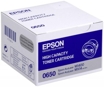 Originální toner EPSON C13S050650 (Černý)