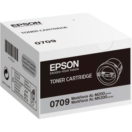 Originální toner EPSON C13S050709 (Černý)