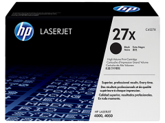 Toner do tiskárny Originální toner HP 27X, HP C4127X (Černý)