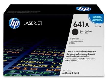 Originální toner HP 641A, HP C9720A (Černý)