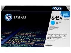 Toner do tiskárny Originální toner HP 645A, HP C9731A (Azurový)
