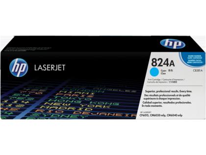 Originální toner s HP 824A, HP CB381A (Azurový)