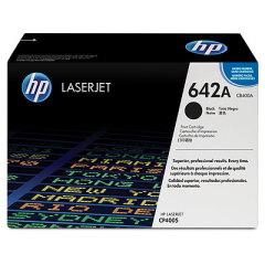 Toner do tiskárny Originální toner HP 642A, HP CB400A (Černý)
