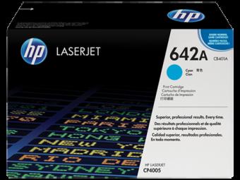Originální toner HP 642A, HP CB401A (Azurový)