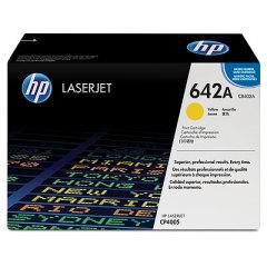 Toner do tiskárny Originální toner HP 642A, HP CB402A (Žlutý)