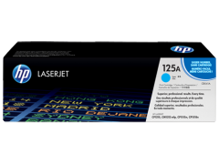 Toner do tiskárny Originální toner HP 125A, HP CB541A (Azurový)