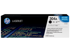 Cartridge do tiskárny Originální toner HP 304A, HP CC530A (Černý)