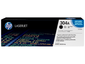 Originální toner HP 304A, HP CC530A (Černý)