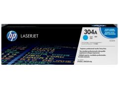 Toner do tiskárny Originální toner HP 304A, HP CC531A (Azurový)
