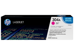 Toner do tiskárny Originální toner HP 304A, HP CC533A (Purpurový)