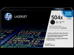 Toner do tiskárny Originální toner HP 504X, HP CE250X (Černý)