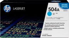 Toner do tiskárny Originální toner HP 504A, HP CE251A (Azurový)