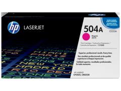 Toner do tiskárny Originální toner HP 504A, HP CE253A (Purpurový)