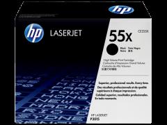 Toner do tiskárny Originální toner HP 55X, HP CE255X (Černý)
