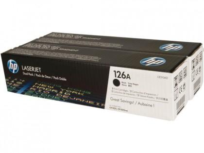 Originální tonery HP 126A, HP CE310AD (Černý) multipack